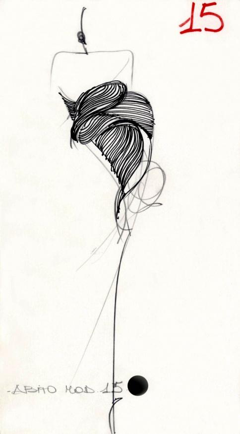 fondazione gianfranco ferr u00e9    collezioni    donna    alta moda    1988    primavera    estate